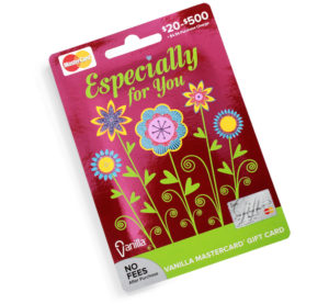 InComm, VanillaGift, spring gift card series by Annatto Especially for you gift card
