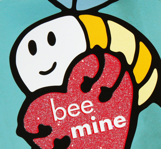 InComm, VanillaGift, spring gift card series by Annatto Valentine's Bee Mine gift card