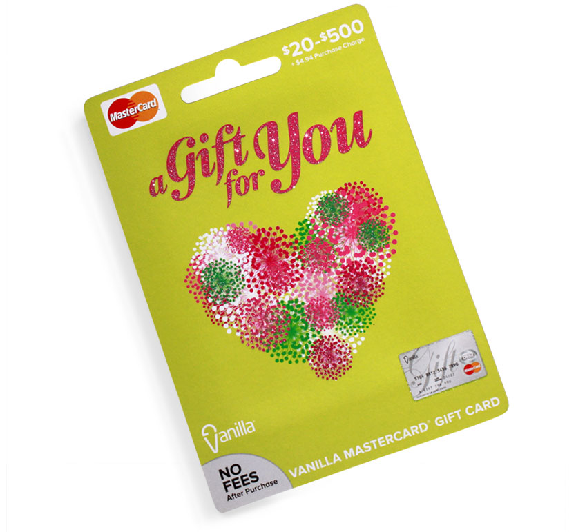InComm, VanillaGift, spring gift card series by Annatto A gift for you gift card