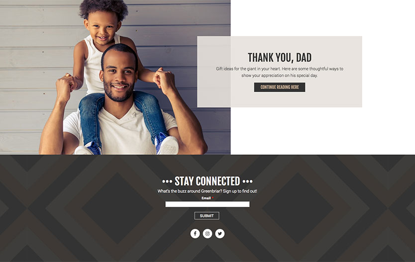 Greenbriar Mall Website Connect