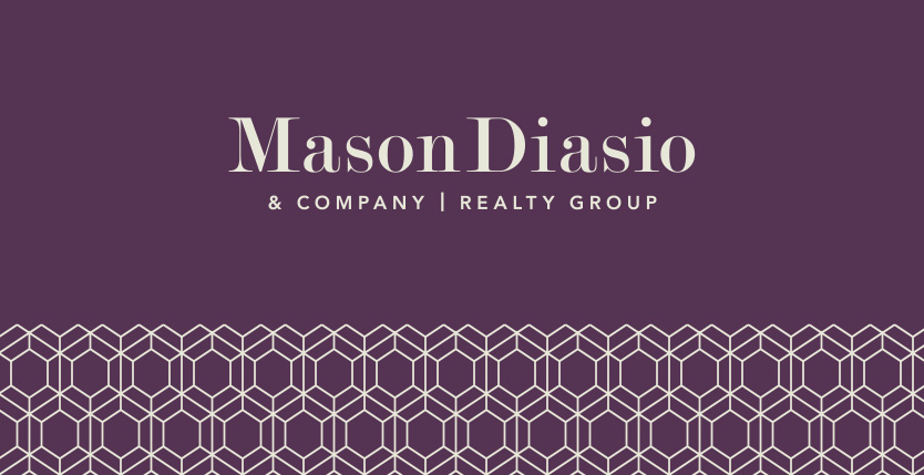 Mason Diasio Realty Group branding by Annatto.