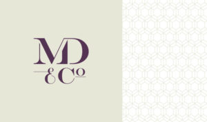 Mason Diasio logo and supporting pattern by Annatto.