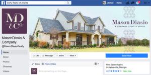Mason Diasio social media graphics for Facebook by Annatto.