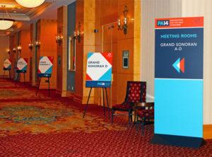Partner Alliance 2014 Event Branding Annatto Way-Finding Signage