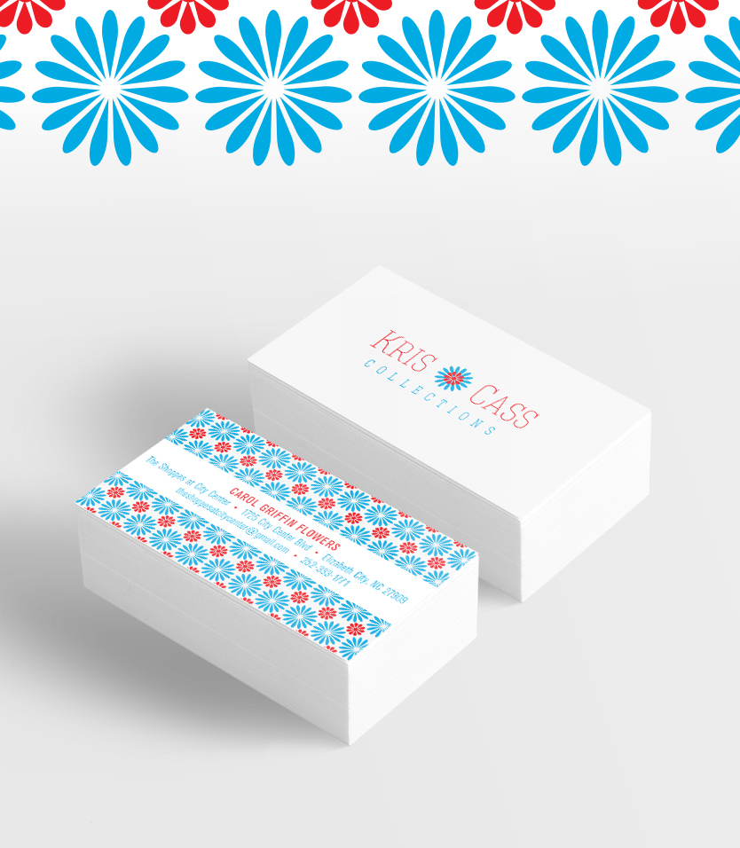 Kris Cass Collections Business Cards