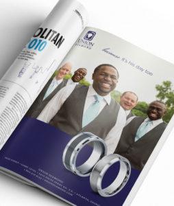 Union Diamond Men's Band Promotion Annatto