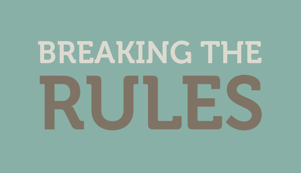 Breaking the Rules Without Losing Brand Consistency