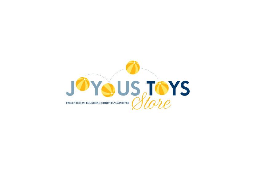 Buckhead Christian Ministry, Joyous Toys Store logo.