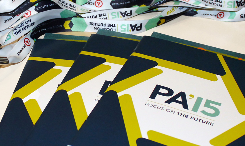 Partner Alliance 2015, Event Branding, Lanyard and Brochure by Annatto