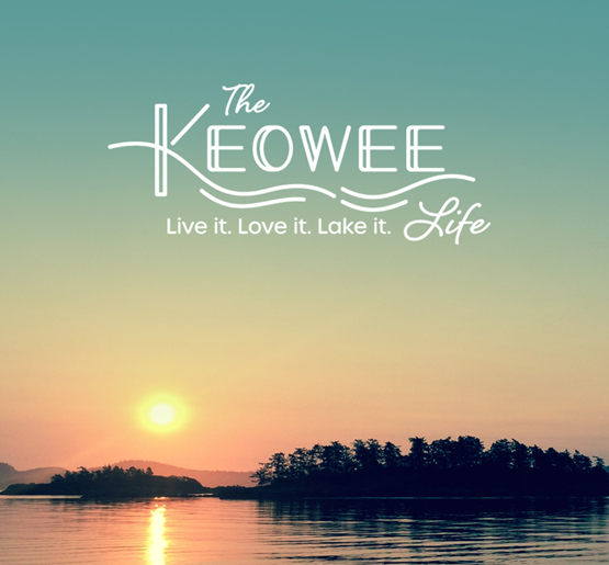 The Keowee Life branding by Annatto.