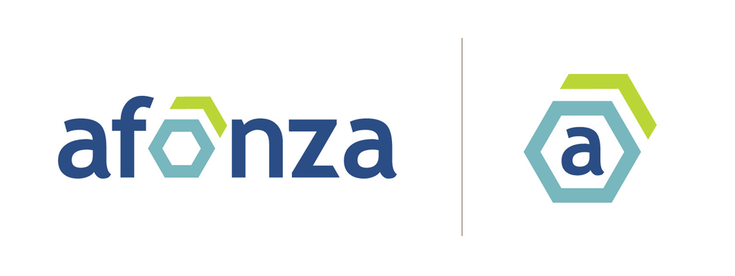 Afonza Logo and Submark