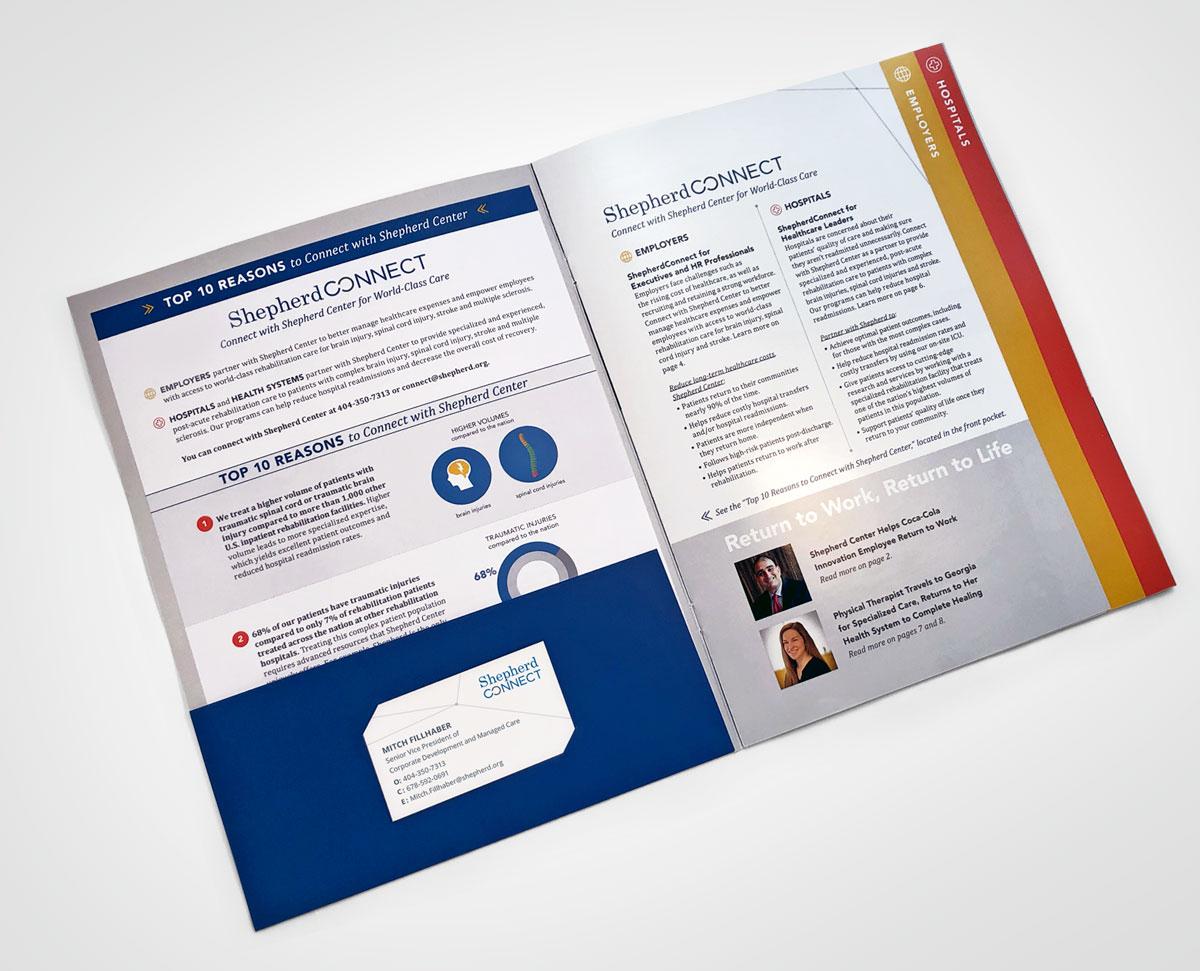 Shepherd Center, ShepherdConnect Marketing Booklet