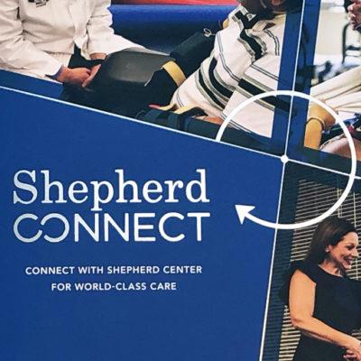 Shepherd Center ShepherdConnect Marketing Collateral