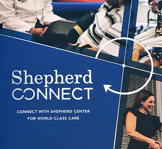 Shepherd Center ShepherdConnect Marketing Collateral