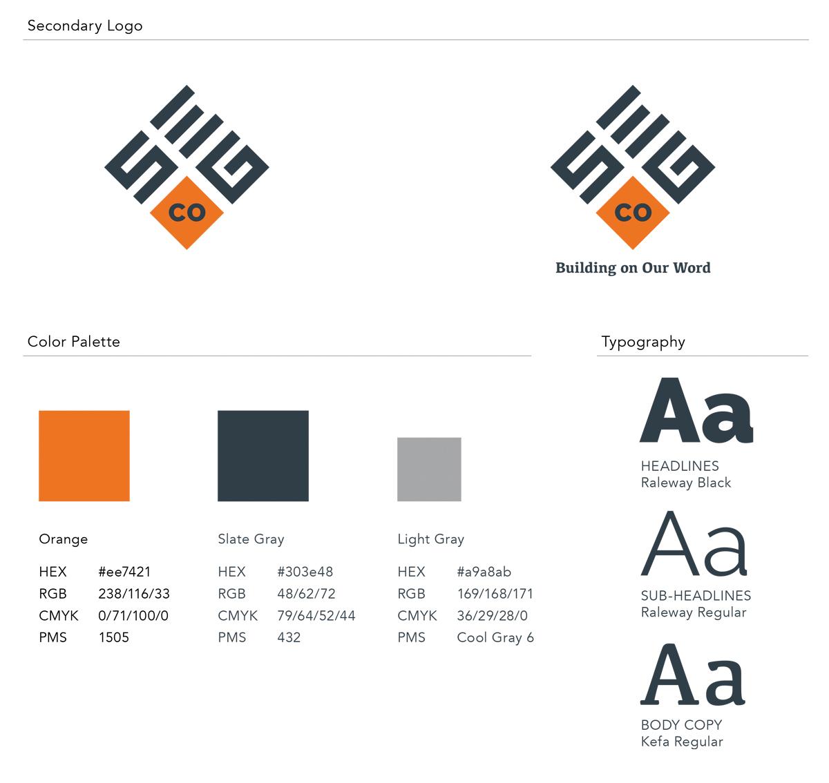 SEG Companies Brand Style Guide by Annatto