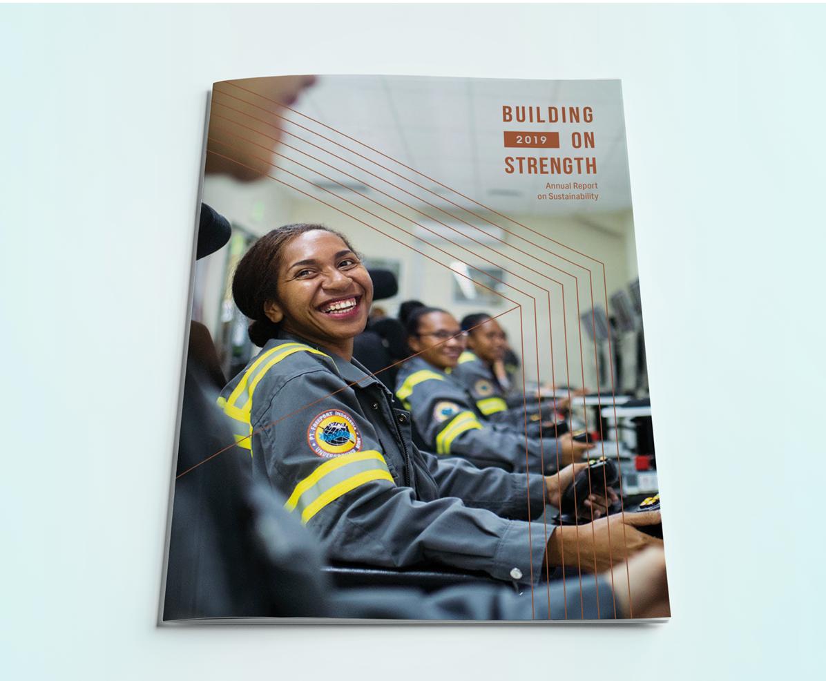2019 Sustainability Report International Mining Company - Cover