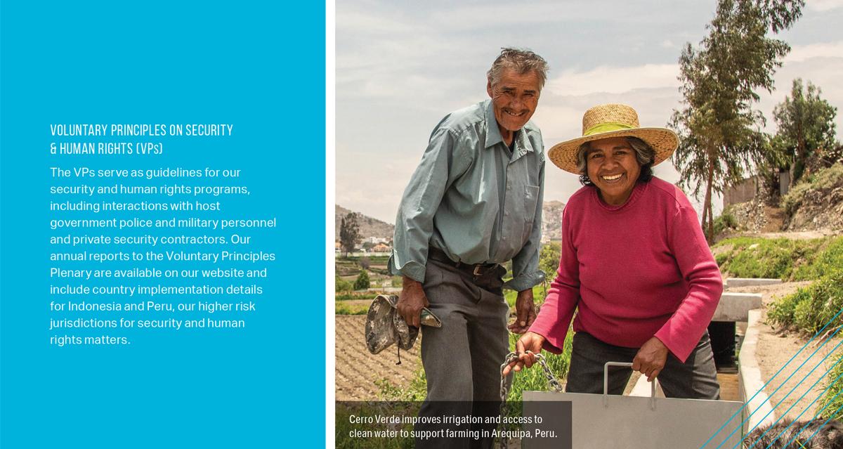 2019 Sustainability Report International Mining Company - Callout
